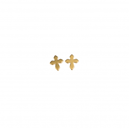 Mini Cross Earrings