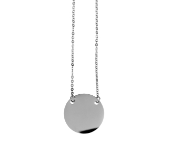 Silver Cercle Necklace