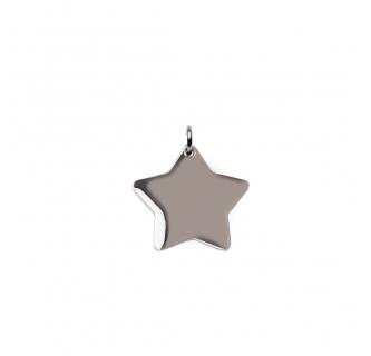 Silver Star Charm